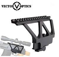 """Низкопрофильный быстросъёмный боковой кронштейн Vector Optics (Китай) на """"ласточкин хвост"""" для АК"""