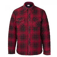 Рубашка Lee Cooper Quilted Padded Red Plaid - Оригинал