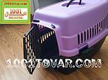 Контейнер-переноска для животных, бирюзовый, фото 5