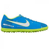 Бутсы Nike Mercurial Vortex Neymar Jr Blue/White/Volt - Оригинал