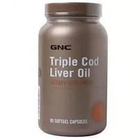GNCЖир печени трескиTriple Cod Liver Oil (90 softgel)