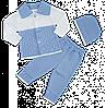 Детский ажурный комплект, рост 74-80 см