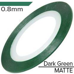 KATTi Лента-скотч MATTE 0.8мм зеленая темная матовая 1шт