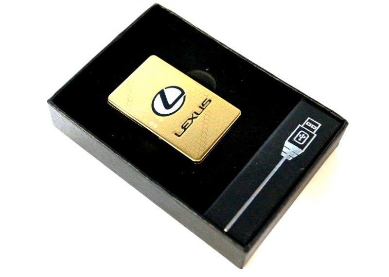 Электроимпульсная зажигалка  с аккумлятором Kronos Lexus