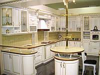 Кухня фасад дерево натуральное