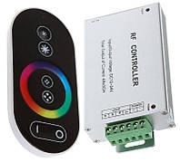Контроллер RGB /24А-RF-Touch / DC 12V / 288W / RF - пуль д/у