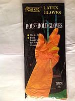 Перчатки резиновые хозяйственные, для уборки