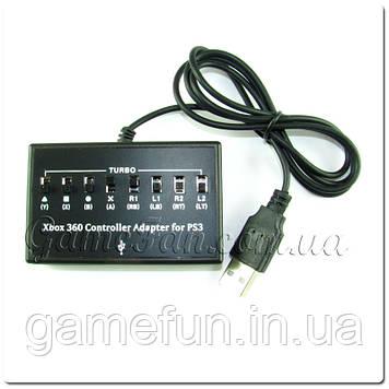 Адаптер проводового джойстика Xbox 360 PS 3
