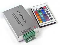 Контроллер RGB / 12А-IR-24 кнопки / DC 12V / 144W / ИК - пуль д/у