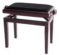 Банкетка для піаніно з регульованою висотою, МАТОВИЙ