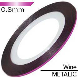 KATTi Лента-скотч METALIC 0.8мм розовое вино металлик 1шт, фото 2