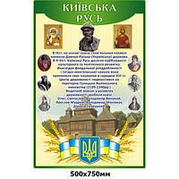 Информационный стенд Киевская Русь (зеленый)