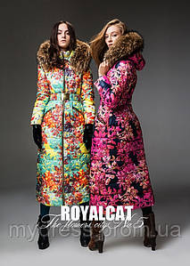 Пуховик люкс класса Royal Cat