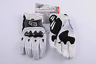 Перчатки   FOX   BOMBER   (mod:080, size:XL, белые)