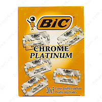 Bic лезвие для бритья Chrome Platinum, 1коробка/20уп/5шт