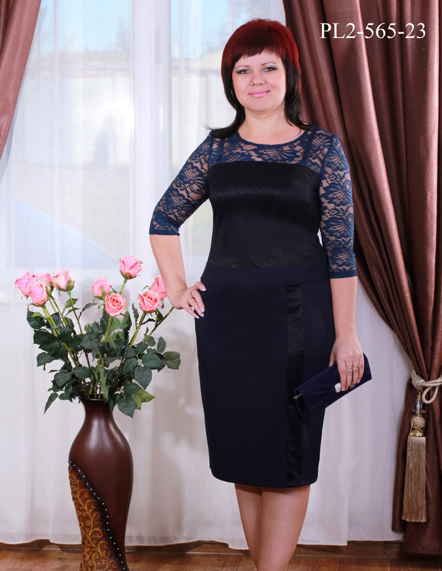 2d2bc6e4ab022b Жіночі Плаття Великих Розмірів Фото