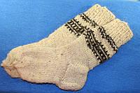 Носки вязанные шерстяные, фото 1