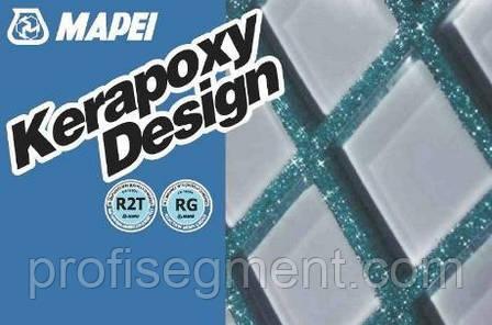 Затирка швов для стеклянной мозаики KERAPOXY DESIGN 3 кг, фото 2