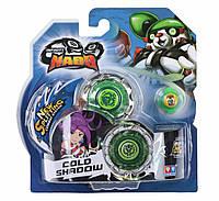 Игровые наборы AULDEY Волчок Infinity Nado Серия  Стандарт - Cold Shadow с устройством запуска