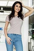 Купить выгодно. Женская футболка с люрексом   3 цвета арт 5116-553 2b18c26696732