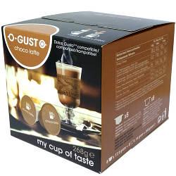 Кофе в капсулах Dolce Gusto coffeeRoots O-Gust Choco Latte 16 шт