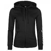 Худи adidas Linear FZ Black/White - Оригинал