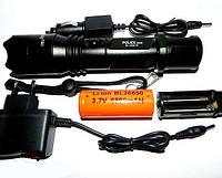 Супер яркий Фонарик аккумуляторный светодиодный Police BL-1828-T6 Фирмы Bailong Диод CREE-T6 1 режим