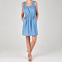 Платье SoulCal Denim Pinafore Mid Blue - Оригинал