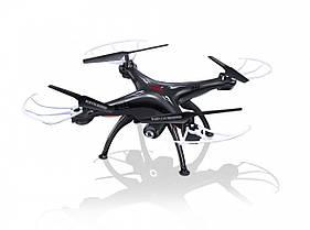 Квадрокоптер р/у Syma X5SW с камерой WiFi (черный)