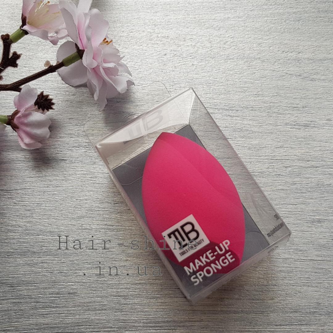 Спонж для макияжа -Tools For Beauty pink 1  шт