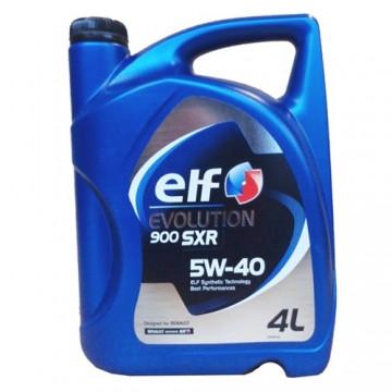 Синтетическое моторное масло Elf Evolution 900 SXR sae 5w-40 4L