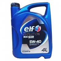 Синтетическое моторное масло Elf Evolution 900 SXR sae 5w-40 4L, фото 1