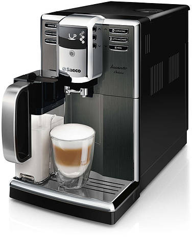 Кофемашина автоматическая Philips Saeco Incanto Deluxe (HD8922/09), фото 2