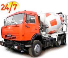 Доставка бетону М250 П3 В20 F200 W6