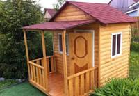Детский домик блок хаус