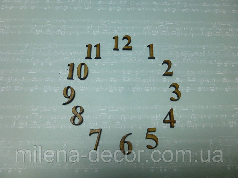 Цифры (набор для часов)