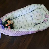 Кокон-гнездышко для новорожденного, фото 1