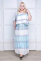 Платье макси для торжества, размер 48-54