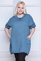 Летняя туника - платье, размер 48-54