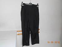 Черные легкие бриджи со шлейкой, фото 1