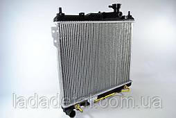 Радиатор охлаждения Хюндай Гетс Getz 1.1/1.3/1.4/ 1,6 (02-) МКПП Лузар 25310-1C100