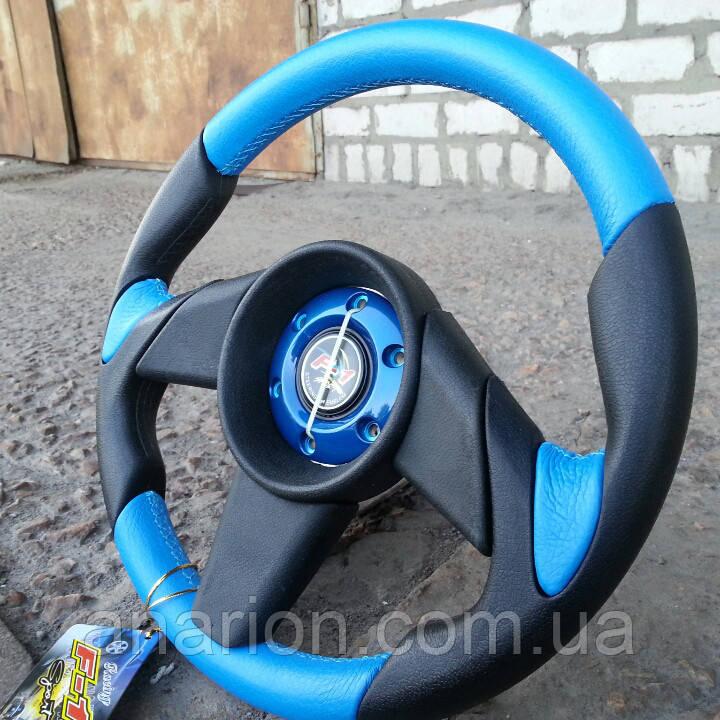 Руль Momo №573 (синего цвета).