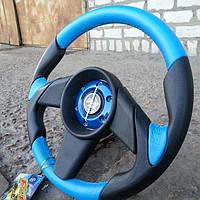 Руль Momo №573 (синего цвета)., фото 1