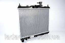 Радиатор охлаждения Getz (Гетс) 1.1/1.3/1.4/ 1,6 (02-) АКПП Лузар