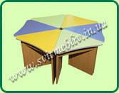 """Комплект столов """"Лепесток""""для детских садиков"""