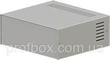 Корпус металевий MB-17 (Ш235 Г217 В92) металік, RAL9006(Metallic textured)