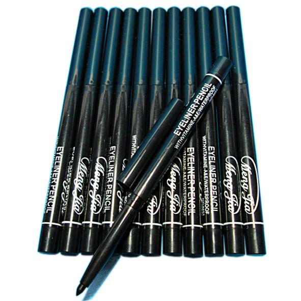 Карандаш для глаз Черный выкручивающийся, качественная косметика оптом упаковкой и в розницу по всей Украине интернет-магазин opt21.com.
