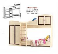 Кровать двухъярусная Дисней (Мебель-Сервис ), фото 1