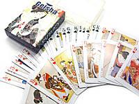 """Карты игральные """"geisha"""" (10х7,5х2,5 см)"""