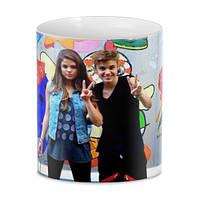 Кружка GeekLand Justin Bieber & Selena Gomez